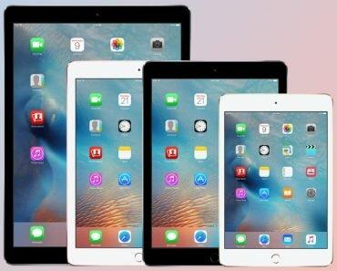 apple iPad devices